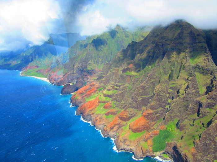 Hawaii Kauai Tropical Paradise Jurassic Pak Napali Coast Water Waterfalls An Eye For Travel Summer Exploratorium