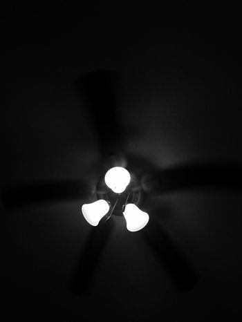My Favorite Place Mybed Illuminated Low Angle View Glowing Lit Dark No People Bedroom Bedview Lonetime Peace And Quiet Peaceful Photography Darkroom Ceiling Fan EyeEm Gallery EyeEm EyeEm Best Shots EyeEm Best Shots - Black + White Blackandwhite Photography Bnw Bnw_captures Bnw_collection Eyeemphotography