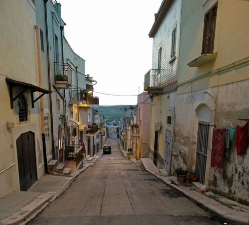 Architecture Building Exterior Built Structure House No People Puglia Southern Italy Street Sunset