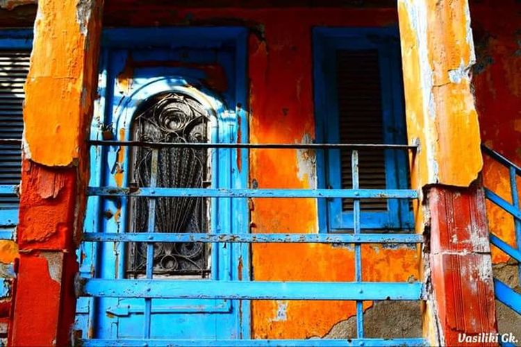 Thessaloniki Greece Oldtown Oldhouselove ColoursEverywhere Hidden Beauty Art Artistic Photo Architecturelovers Architecture