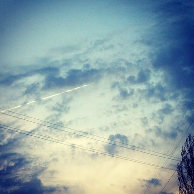 прогулка продолжение небо вечер