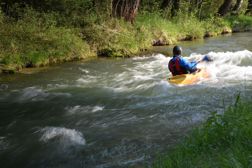 Inspiring Nature Small River The Great Outdoors - 2016 EyeEm AwardsWatersports Camera Practice Nature Photography Waves Crashing