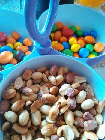 Sucré salé de cacahuètes Cacahuete Peanuts Chocolate Visual Feast
