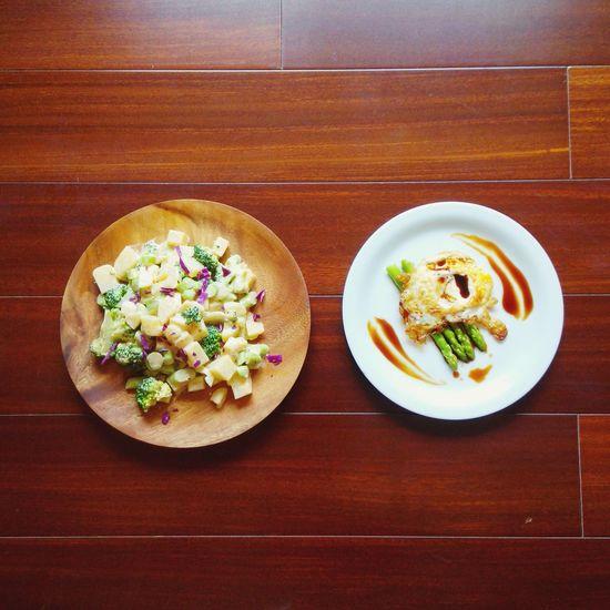 Relaxing Enjoying Life Breakfast Huizhou The EyeEm Breakfast Club 早餐 Salad Fried Egg 惠州