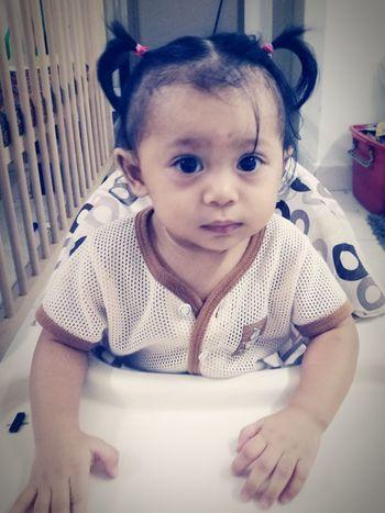 hai Baby Portrait HuweiP9plus Leica Lens Makeitpossible DualCamera Baby Malaikaeliya Happiness Babies Only Cute MummydaddyloveUsomuch