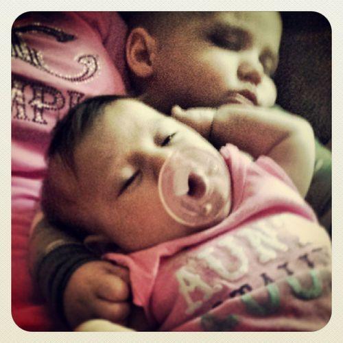 To stinking cute if I do say so myself! Brantley Kaylee  Greatnephew Greatniece sleepybabies