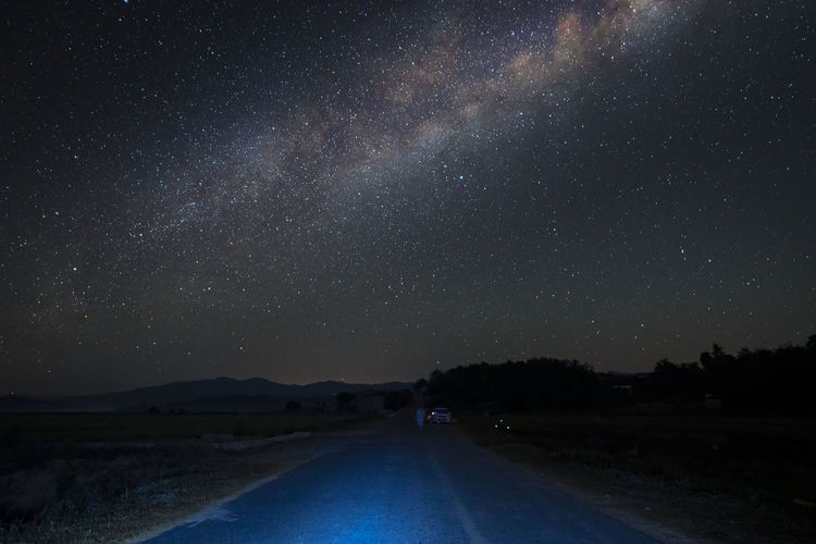 Road to milky