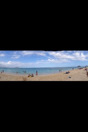 #lanikaibeach #withthelilbro #firsttimers #goodtimes #relaxingtime