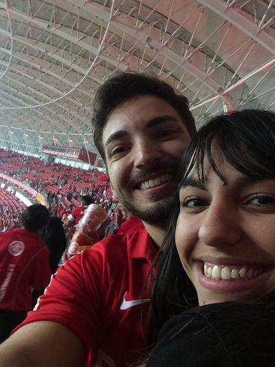 Amor meu, enfrentando difícil missão 😀😀 Love Beirario Gigante Da Beira-Rio Brasil
