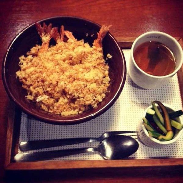 Dinner ★ Tempurashrimp Japaneserice ♥