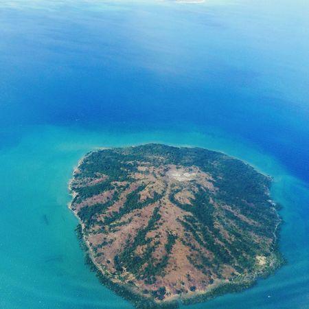 Fromairplanewindow Geotaging Kupang Nusatenggaratimur Lion Air Island Wonderful Indonesia