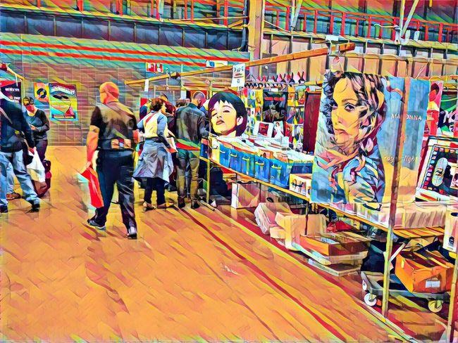 Record Fair Madonna Youth Culture Music Utrecht, Netherlands Jaarbeurs Utrecht Jaarbeursplein
