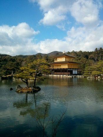 Kinkaku-ji, or the Golden Pavilion , Kyoto. · Japan Kinkakuji Kinkakuji Temple History Culture Architecture Sightseeing