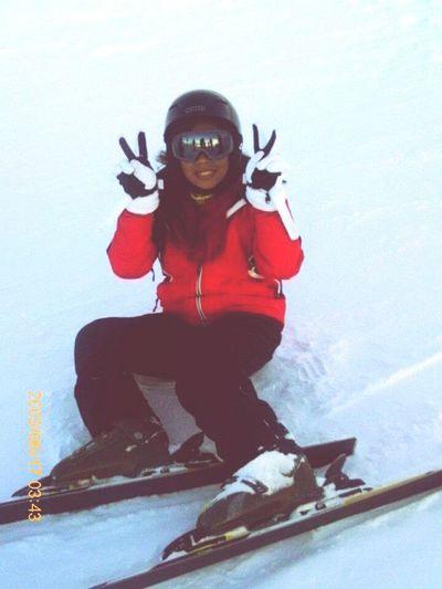 Learning how to ski ❄⛄ Snow Ski-trip