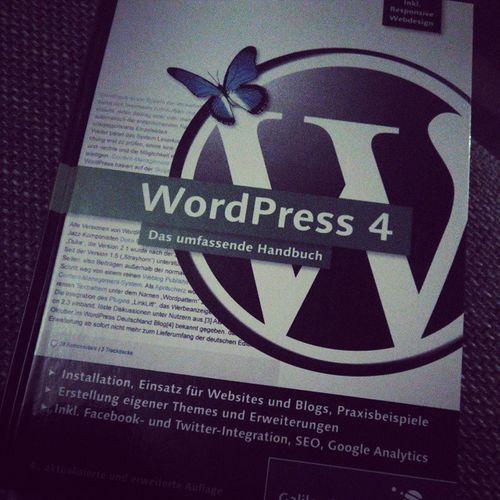 Knapp 922 Seiten Lesestoff... Wordpress4 Blog Handbuch