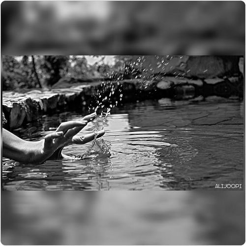 MyPhotography MyArt Black And White Black Fingerstyle Fingerwizard Water Flywater