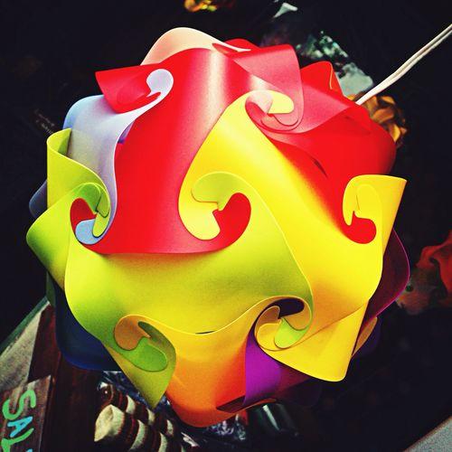 Lumpshade Lump Colorful Art
