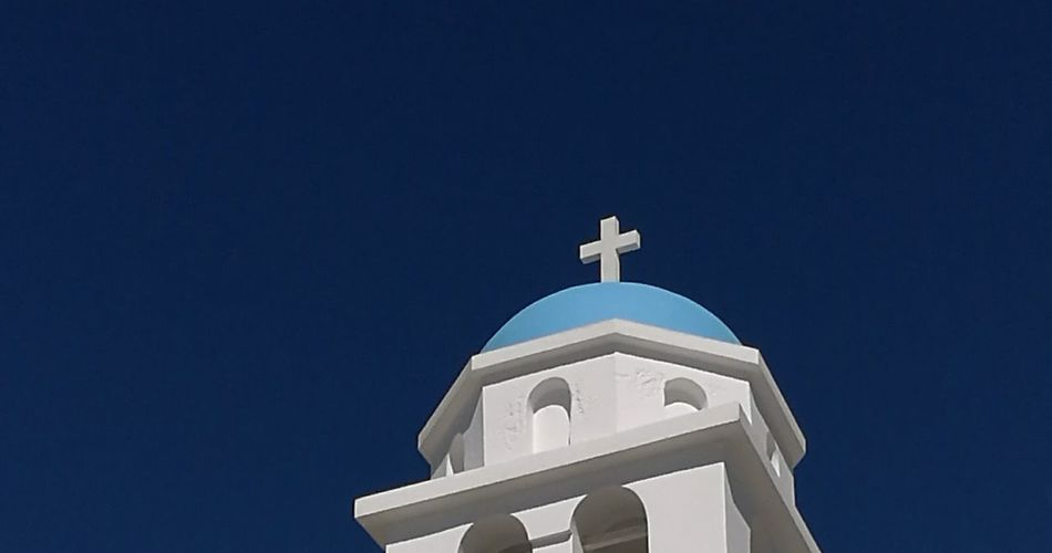 Greece Church Holiday Holidays In Greece ❤ Holidays Paros Island Greek Islands Blue Sky Blue First Eyeem Photo