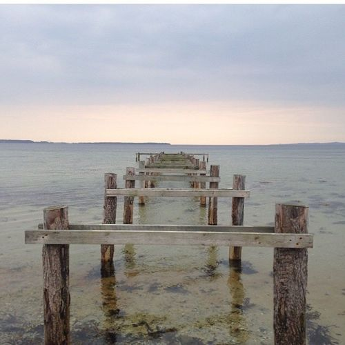 Tranquil Scene Horizon Over Water Water Sea Outdoors No People No Bridge Autumn Denmark Ebeltoft