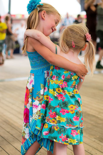 2 Girls Adorable Childhood Cute Dancing Dress Enjoy The New Normal Two Is Better Than One Enjoyment Fun Girls Hugging Kids Kids Being Kids Kidsphotography Laugh Laughing Leisure Activity Lifestyles Love Lovely Outdoors Sisters Smile Portrait My Year My View Sommergefühle