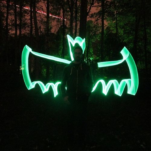 Jen showed the family how to light paint and made me Batman... even caught a shooting star in the background Coolestwifeever Imbatman Lightpainting Cool awesome nofilter photooftheday picoftheday photographoftheday pictureoftheday