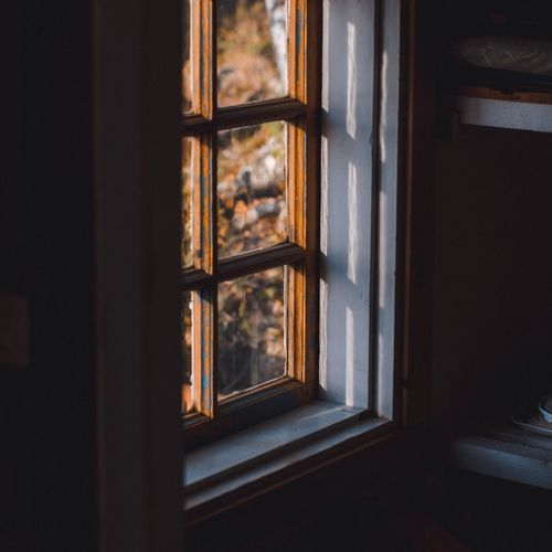 photo taken at my family's summer cabin. Window Indoors  Door No People Curtain Day Close-up Architecture EyeEm Selects EyeEm Best Shots Moody Moodygrams Nikon EyeEm Gallery EyeEmBestPics EyeemTeam Tranquility EyeEm Selects Fresh On Market 2017