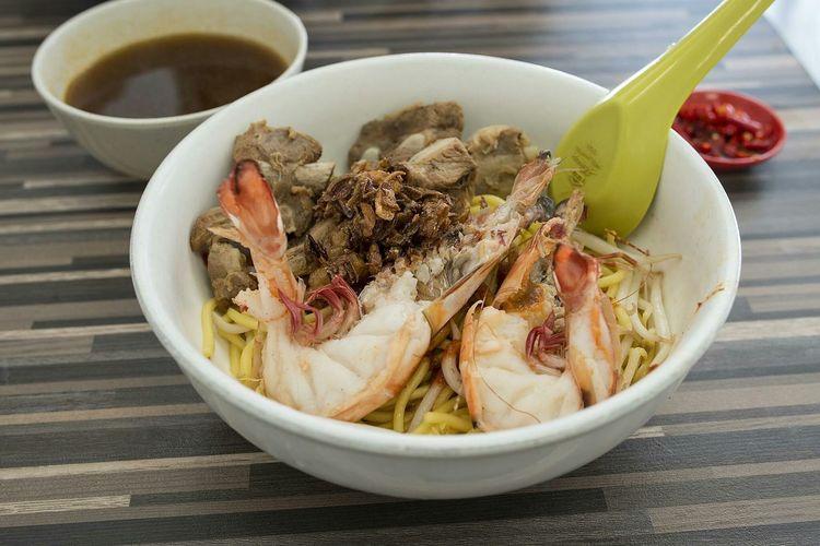 Prawn Noodles with Pork Ribs Sgfood Foodporn Singapore Hawker Food Food Porn Awards