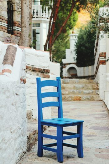 Chair Art Blue Bluechair IShots Shot Eyemphotos Travel Photography Eye For Photography EyeEm Gallery Chair