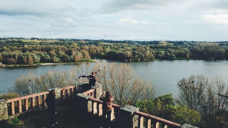 Les bords de Loire France Panorama Landscape Nature