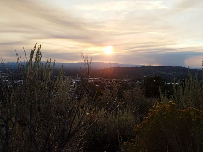 Sunset Sun Sky Sunlight Scenics Outdoors Beauty In Nature Bend, Oregon Pilot Butte