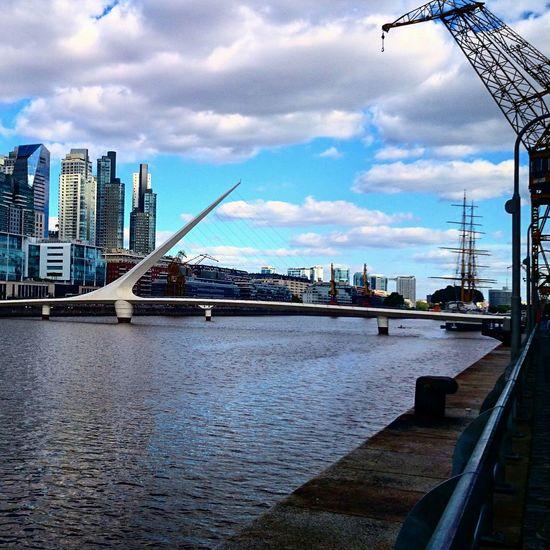 Living Bold Architecture Bridge Buenosaires Puente De La Mujer