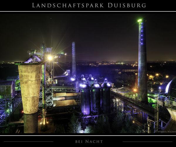 Landschaftspark Duisburg bei Nacht Duisburg EyeEmNewHere EyeEmReady HDR Industriekultur Industry LaPaDu Ruhrgebiet Ruhrpott Illuminated Industry Landschaftspark Duisburg-nord Metal Industry Night No People Outdoors