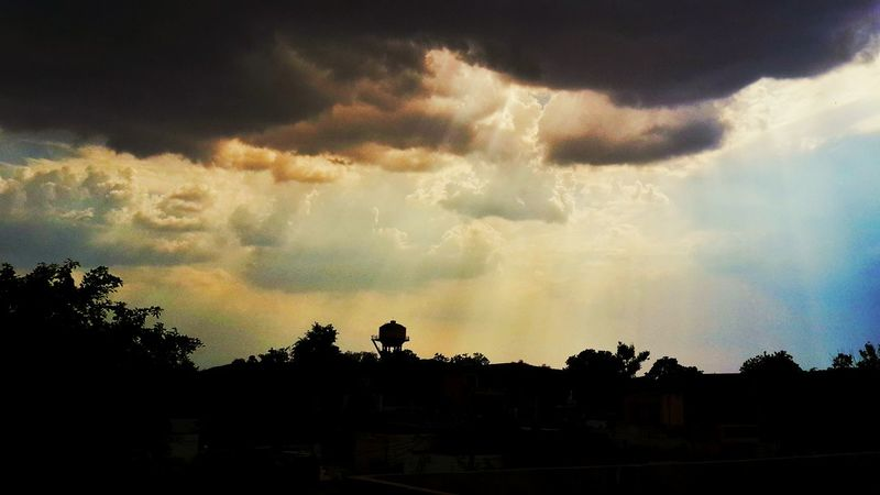 Heaven's Light Sky And Clouds Sunset #sun #clouds #skylovers #sky #nature #beautifulinnature #naturalbeauty #photography #landscape Khairthal Alwar Rajasthan India Beautiful View
