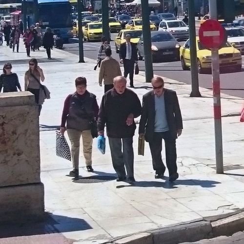 THESE Are My Friends Thugs OldButGold Greece Athens City Enjoying Life Summer Sunglasses :D