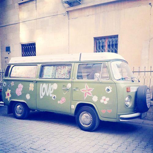 Love Volkswagen Flower Flowerkids Bus
