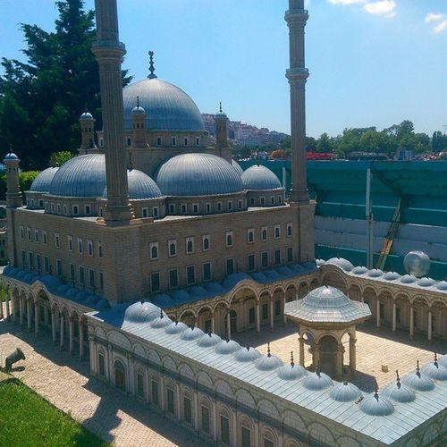 Kahire Mehmetalipasacami Cami Mosque misir istanbul model maket architech mimari art miniature miniaturk kagithane travel museum