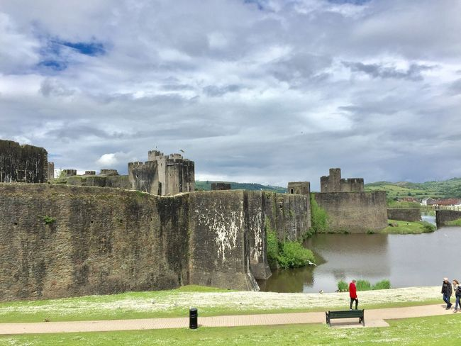 Castle Caerphilly Castle, Wales❤ Home Sweet Home There is no place like home (even if the locals are a bit batty)