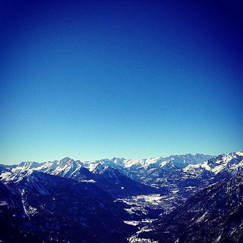 Montagne Neige Ski Skiing