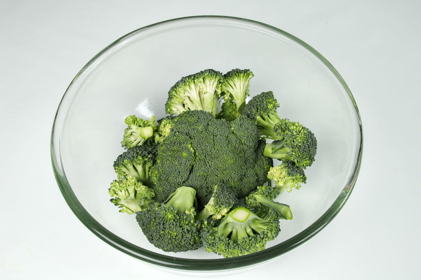 Broccoli Close-up Day Detox Food Freshness Healthy Eating Healthy Lifestyle Indoors  No People Studio Shot Vitamin White Background