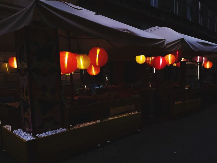 #travel #travelphotography #budapest #hungary Memories Art Urban Art is Everywhere Light And Shadow #Night Restaurant Tourism Colors Colorful Lantern Lantern Chinese Lantern Celebration No People Red Chinese Lantern Festival Night Outdoors