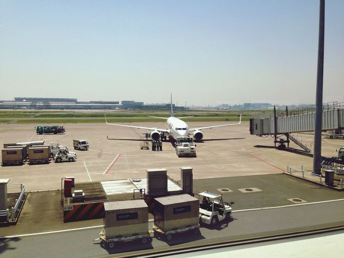 搭乗待ち Airport