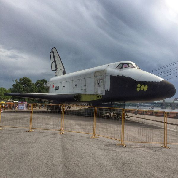 IPhoneography Streetphotography Space Shuttle Relaxing