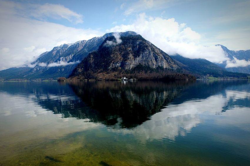 Fujifilm Fujixm1 Hallstatt Water Reflections Streetphotography Austria