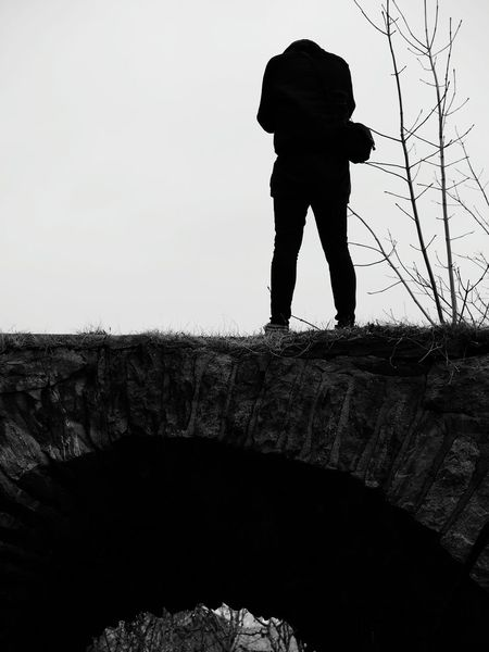 Headless cameraman Portrait Of A Friend Silhouette Blackandwhite Breakfast And Photowalk Concentration Showcase: November