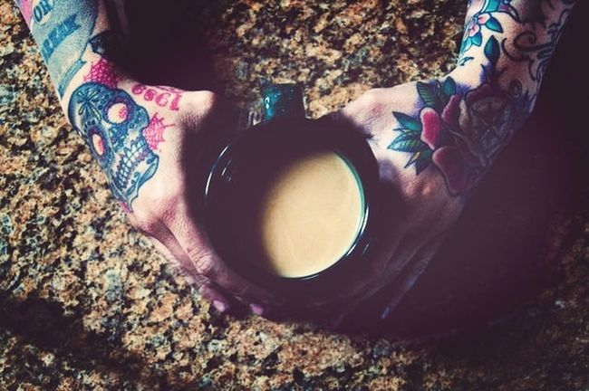 The EyeEm Breakfast Club Coffe Time Tatoo Morning Coffe