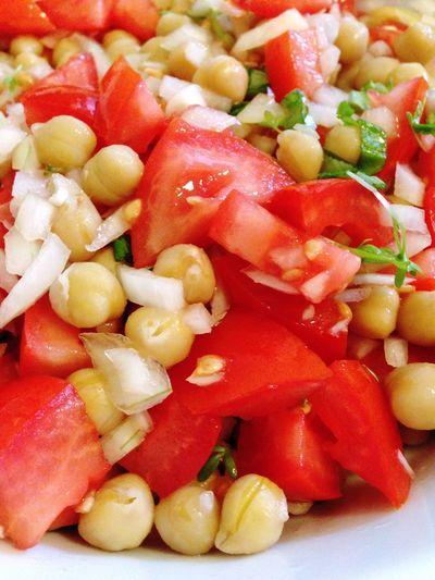 Chick Peas Chickpeas Chickpea Tomato Salad Tomatoes
