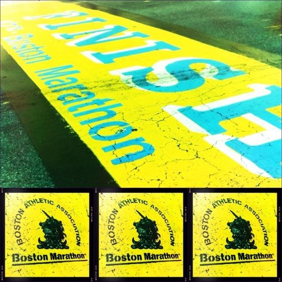Boston Boston Marathon Collage Boston Strong
