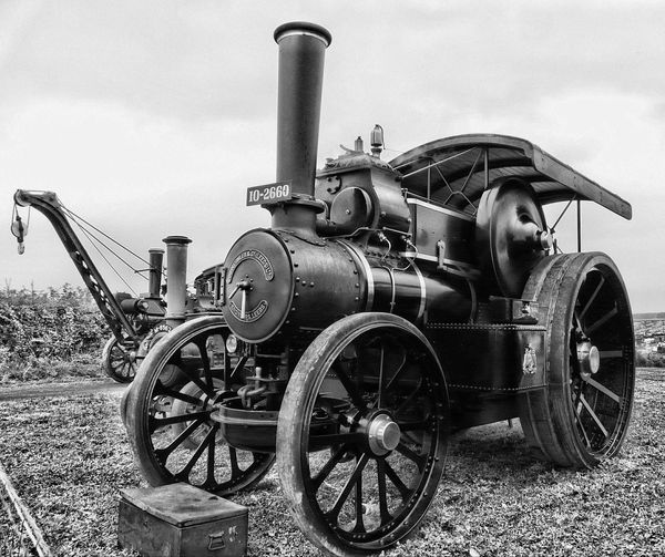 Transportation Great Day Out Great Dorset Steam Fair S Steam Traction Engine Heavy Haulage Black And White Seriously Heavy Engineering
