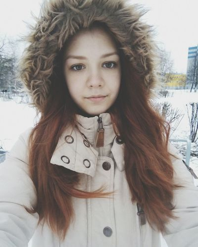 Winter Girl Cute Cold That's Me :з