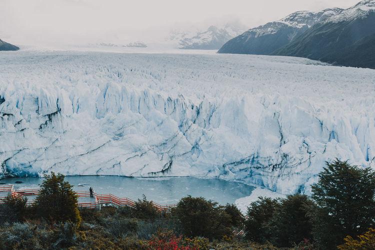 View of perito moreno glacier